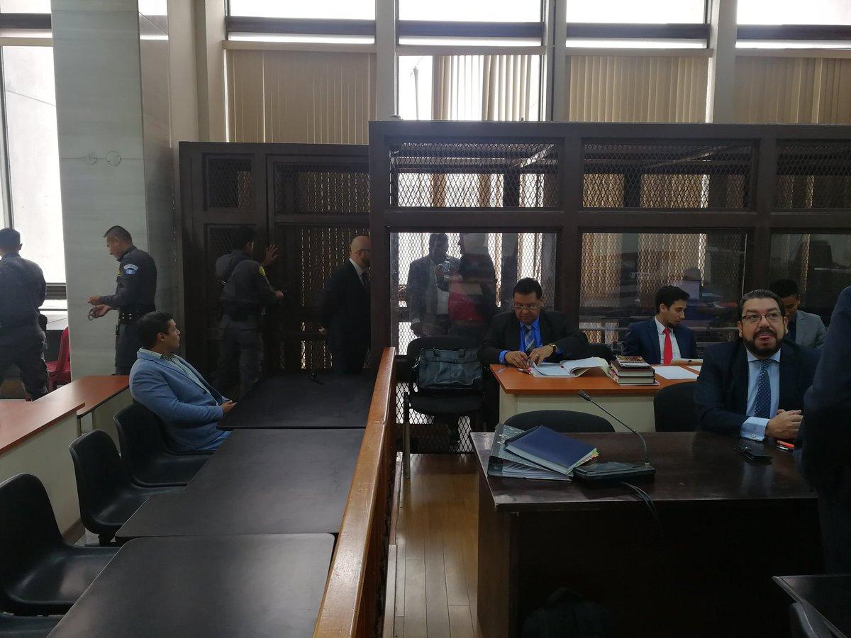 Debido a inasistencia de jueza se aplaza el debate del caso Génesis