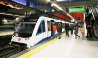 Aspecto de un metro subterráneo, el cual ayuda a descongestionar una ciudad.