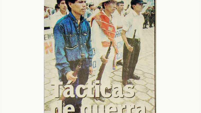 En 1999 varios partidos se disputaban el voto de los ex patrulleros civiles. (Foto: Hemeroteca PL)