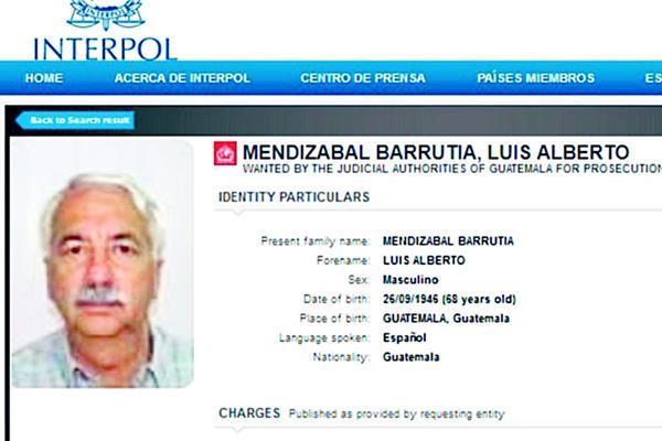 Luis Alberto Mendizábal Barrutia, de 64 años, actualmente tiene una orden de captura internacional y es vinculado a varios casos de corrupción. (Foto Prensa Libre: Hemeroteca PL)