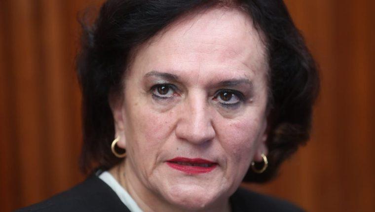 La procuradora general de la Nación entregará el viernes, el informe de la Cicig, al presidente Jimmy Morales. (Foto Prensa Libre: Érick Ávila)