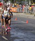 Mirna Ortiz es la guatemalteca mejor posicionada en la competencia. Mayra Herrera fue descalificada y Maritza Poncio está en el último grupo. (Foto Prensa Libre: COG)
