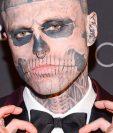 Tenía el cuerpo cubierto de tatuajes de huesos y órganos. GETTY IMAGES
