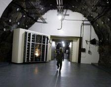 NORAD, un búnker construido por EE.UU. en la Guerra Fría para la defensa aérea que sigue operativo. (GETTY IMAGES)