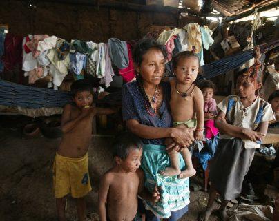 Unicef señalan que en Guatemala cuatro de cada 10 menores de cinco años padecen algún grado de desnutrición. (Foto Prensa Libre: Hemeroteca PL)