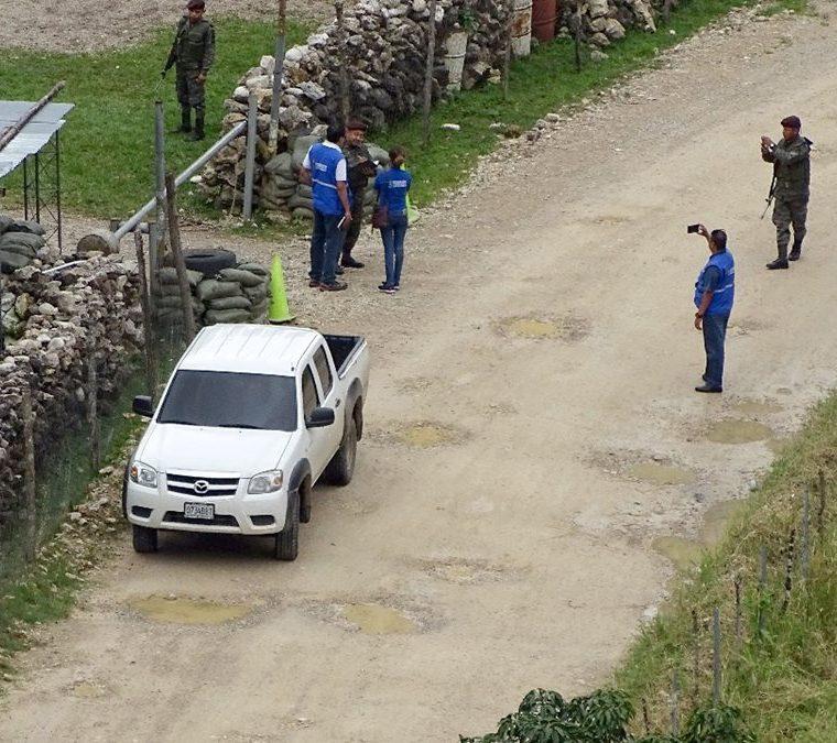 La PDH media en el conflicto en la región de Ixquisis, Huehuetenango.  (Foto Hemeroteca PL)