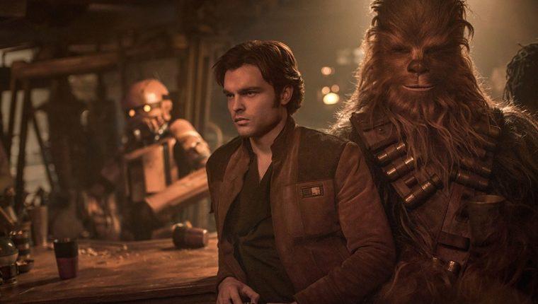 """El pasado 10 de mayo se estrenó """"Solo: A Star Wars Story"""". Desafortunadamente la película no logró los resultados esperados en taquilla. (Foto Prensa Libre: Disney)."""