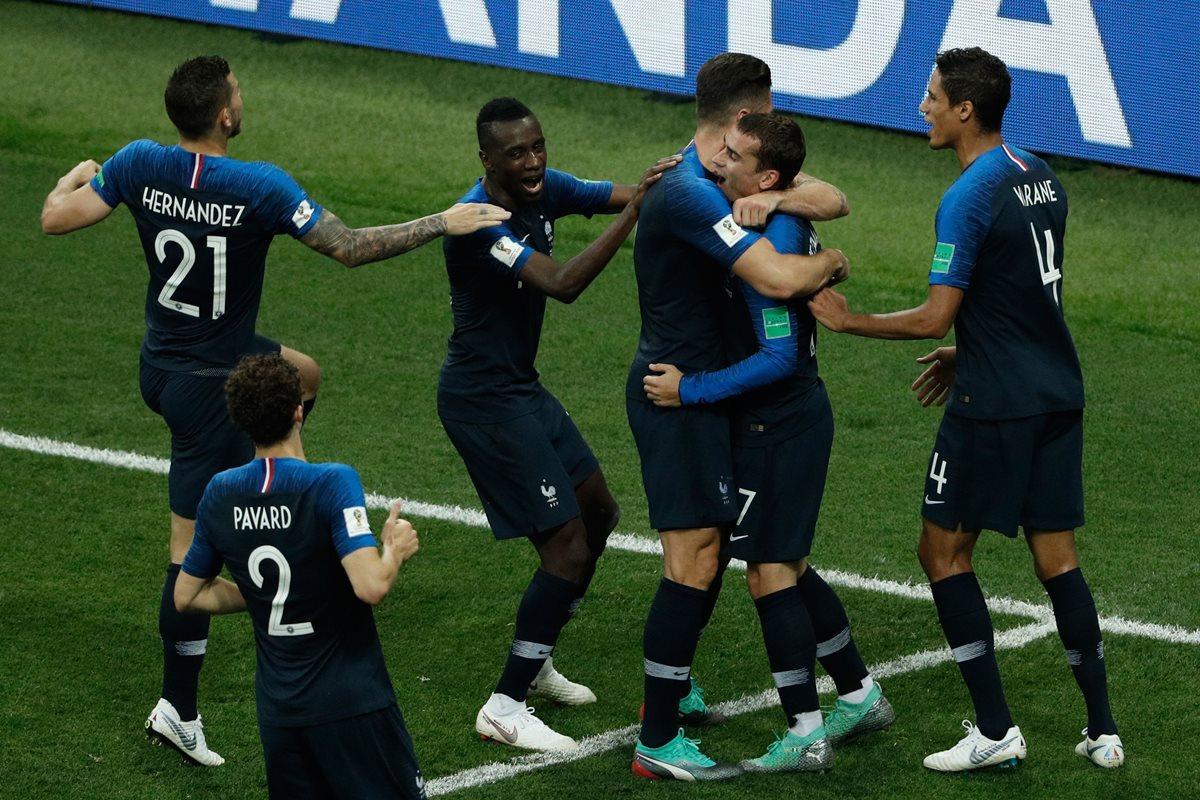 Francia se quedó con la Copa del Mundo de Rusia 2018 al derrotar a los croatas en una final que tuvo de todo. (Foto Prensa Libre: AFP)