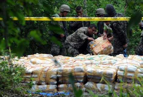 Centroamérica es una de las regiones más afectadas por el narcotráfico. (Foto Prensa Libre: Archivo)