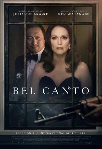 Este es el afiche oficial de la película 'Bel canto'. (Foto Prensa Libre: Screen Media).