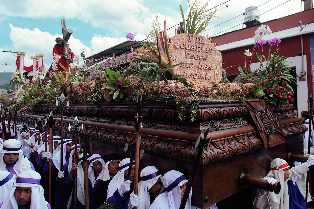 Devoción invade Antigua Guatemala este Vienes Santo