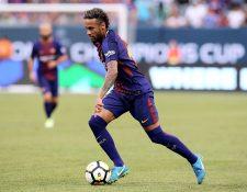 El interés del PSG por el brasileño Neymar ha puesto en duda su continuidad en el Barcelona. (Foto Prensa Libre: AFP).