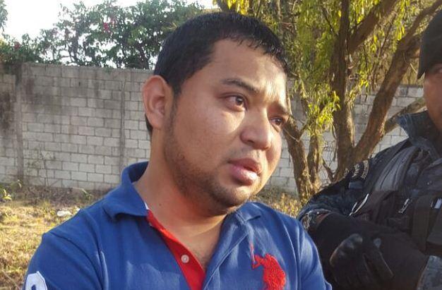 Presunto narco Brisley Rocael Jiménez Hernández. Foto Prensa Libre: PNC