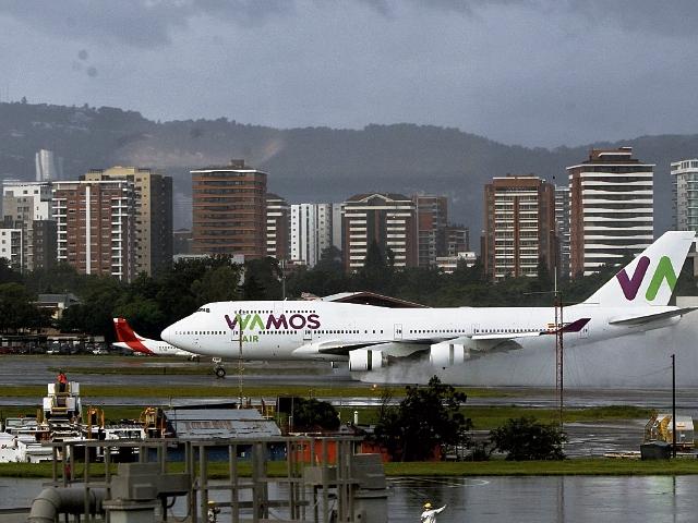 El Boeing 747-400 de Wamos hará escala en Varadero, Cuba, en su ruta hacia Madrid o Guatemala.