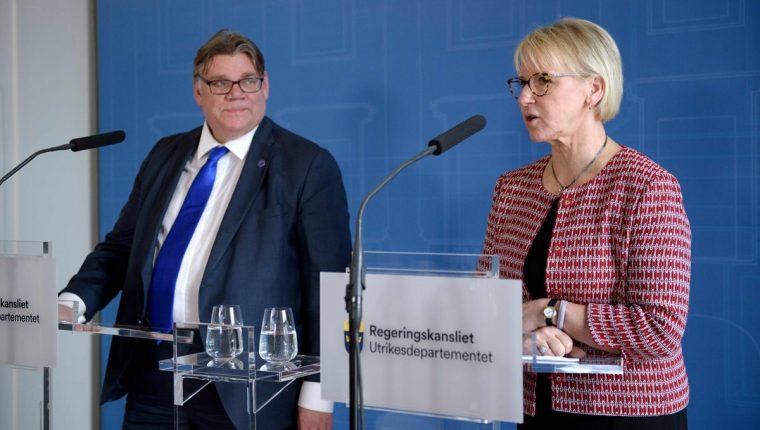 La canciller de Suecia lamentó la petición del Gobierno de Guatemala y dijo que pedirán más detalles. (Foto Prensa Libre: AFP)