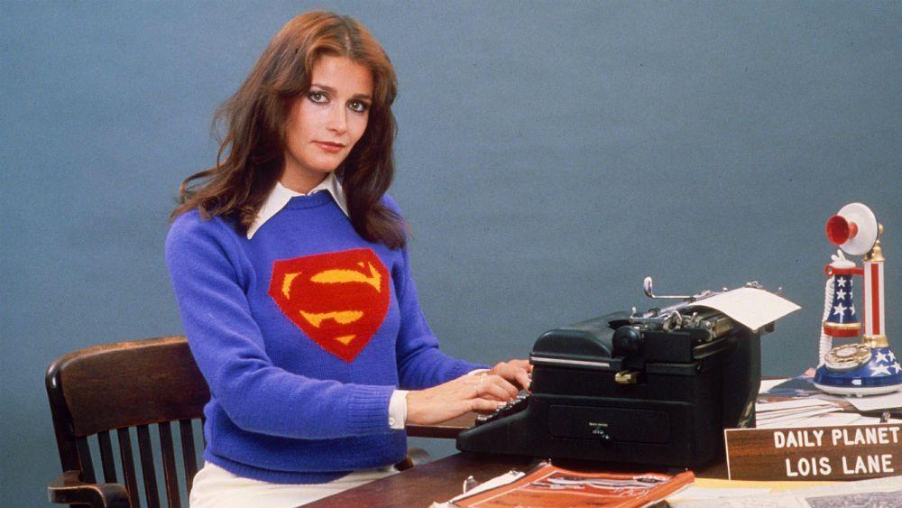 Margot Kidder, en el rol de Lois Lane, la novia de Superman (Foto Prensa Libre: Superman)