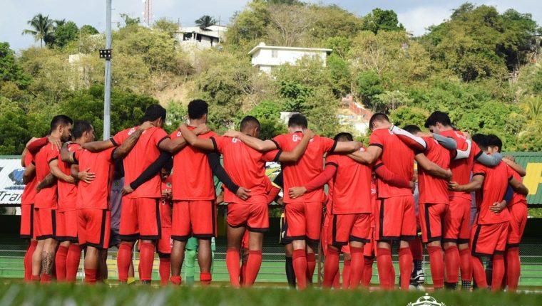 El equipo de Guastatoya jugará la Concacaf en el 2019 contra el Dynamo de la MLS. (Foto Prensa Libre: Twitter de Guastatoya)