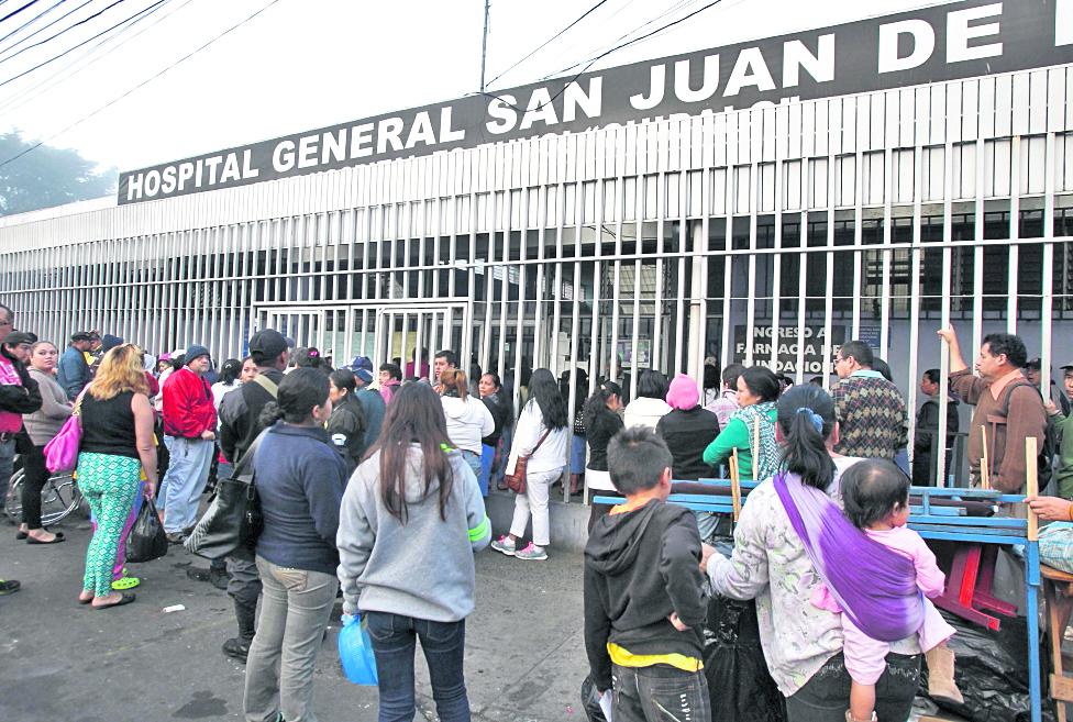 Existe un protocolo de atención para menores que llegan al Hospital General con una Alerta Alba-Keneth activada. (Foto Prensa Libre: Hemeroteca PL)