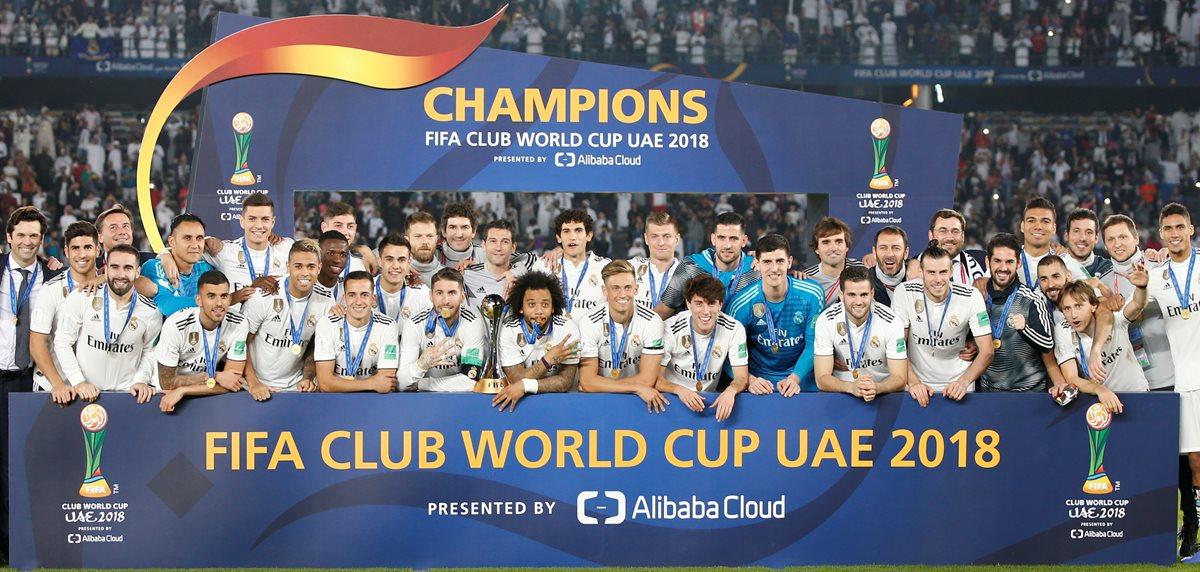 El Real Madrid concluyó el año ganando el Mundial de Clubes. (Foto Prensa Libre: EFE)