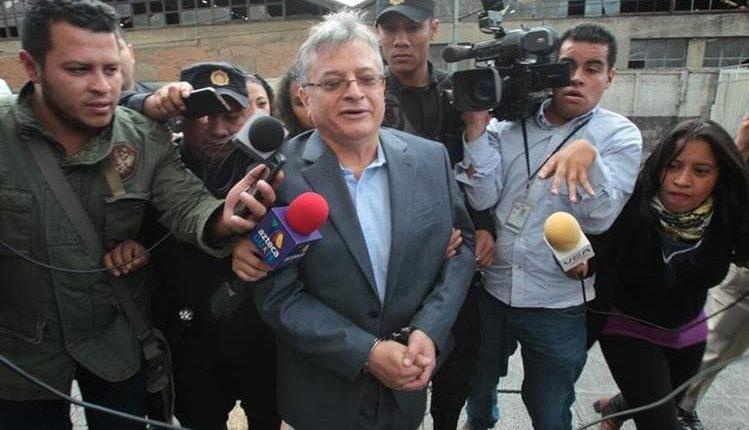 La semana pasada el exsuperintendente de la SAT fue capturado en zona 16. (Foto Prensa Libre: Hemeroteca PL)
