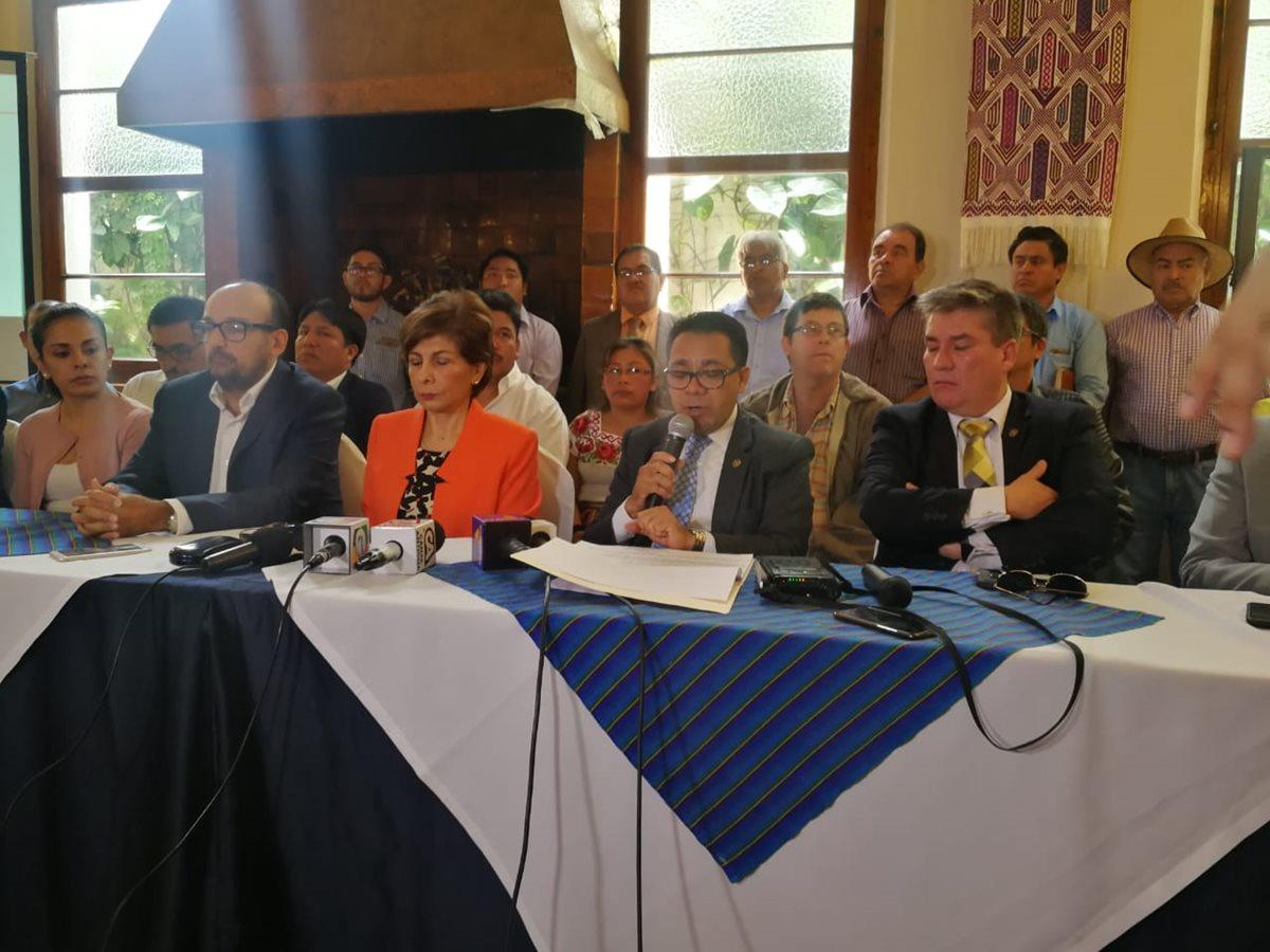 El Comité Ejecutivo del partido Encuentro por Guatemala asegura que tiene pruebas de que no se cometió financiamiento electoral ilícito. (Foto Prensa Libre: Hemeroteca PL)