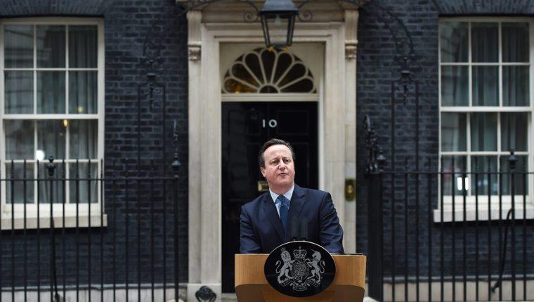 """David Cameron emprende campaña por el """"SÍ"""" para permanecer en UE. (Foto Prensa Libre: EFE)"""