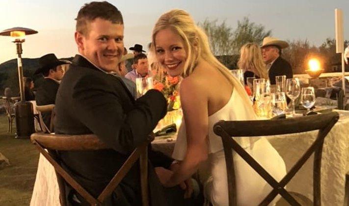Will Byler y Bailee Ackerman, ambos de 24 años, murieron en un accidente aéreo en Texas, EE.UU. (Foto Prensa Libre: Twitter @RobertPrinceTV)