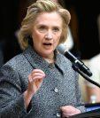 Hillary Clinton admite cometió un error al no usar el correo electrónico oficial para toda su correspondencia. (Foto Prensa Libre:AFP)