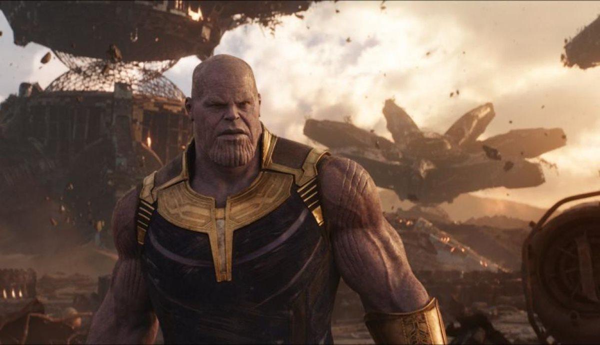 Thanos buscará las piedras del infinito para cumplir con su objetivo: hacer que los Avengers dominen la taquilla (Foto Prensa Libre: Marvel Studios/Disney).