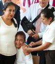 Las inmunizaciones son para niñas de entre 10 y 11 años. (Foto Prensa Libre: Hemeroteca PL)