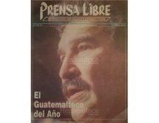 Portada del 10/1/1993 en la cual se da a conocer que Ramiro de León Carpio es el personaje del año. (Foto: Hemeroteca PL)