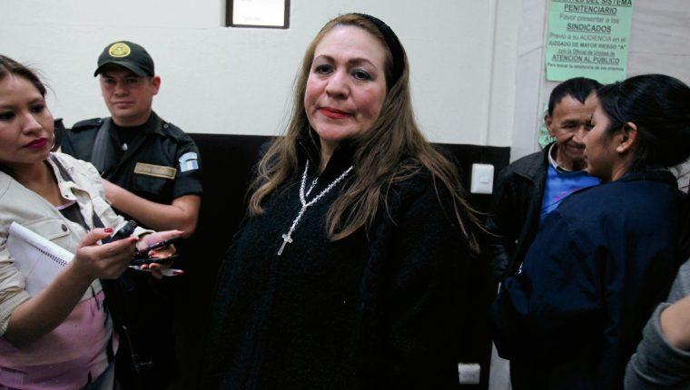 Marlene Blanco La Pola, pagó Q200 mil de fianza para recuperar su libertad. (Foto Prensa Libre: Hemeroteca PL)
