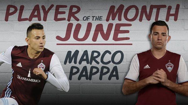 Marco Pablo Pappa sigue destacándose con el Colorado Rapids, de la MLS (Foto Prensa Libre: Twitter Colorado Rapids)