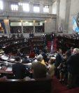 El Congreso comenzó la discusión de las reformas a la Ley Electoral. (Foto Prensa Libre: Érick Ávila)
