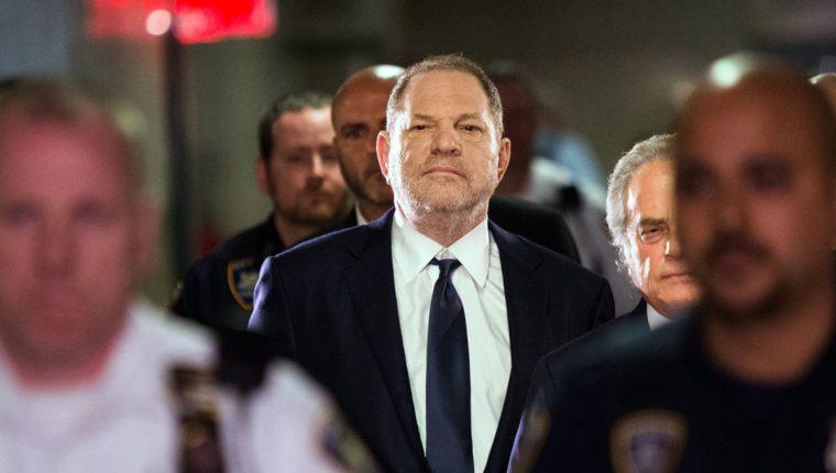 El productor Harvey Weinstein fue el primer señalado en el escándalo de abusos sexuales que azotó a Hollywood. (Foto Prensa Libre: AFP)