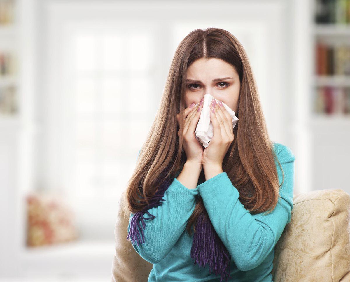 Como diferenciar la gripe y el resfriado común
