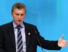 Mauricio Macri, participa de la Cumbre Empresarial de la Alianza del Pacífico. (EFE).