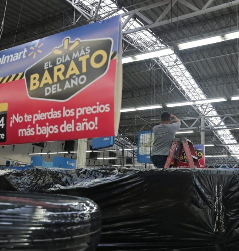 Los productos que estarán ofertados durante El Día Más Barato del Año serán revelados hasta el próximo viernes 2 de noviembre. (Foto Prensa Libre: Juan Diego González)