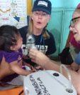 El equipo médica de Project Hope ha atendido a personas que se encuentran en comunidades afectadas por la erupción del Volcán de Fuego. (Prensa Libre: Cortesía Project Hope)