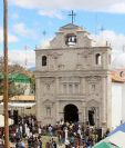 Nueva parroquia de Joyabaj, Quiché, fue inaugurada este sábado. (Foto Prensa Libre: Óscar Figueroa).