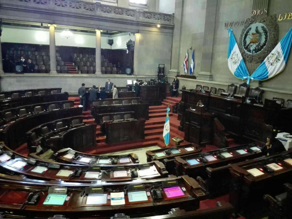 Congreso intenta conocer las reformas a la Ley Electoral. (Foto Prensa Libre: Hemeroteca PL)