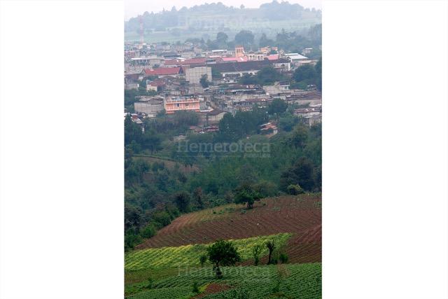 Vista de San Juan Comalapa, Chimaltenango. (Foto: Hemeroteca PL)