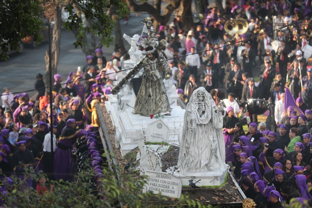 Jesús de La Merced recorre el Centro Histórico