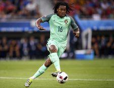 Renato Sanches es el jugador más joven que disputará la final de la Euro entre Portugal y Francia. (Foto Prensa Libre: AFP)