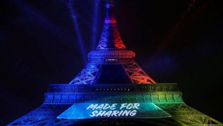 Un colectivo de asociaciones de defensa de la lengua francesa anunció hoy que presentará una demanda contra la candidatura de París a organizar los Juegos Olímpicos de 2024 por haber presentado su eslogan en inglés. (Foto Prensa Libre: AFP)