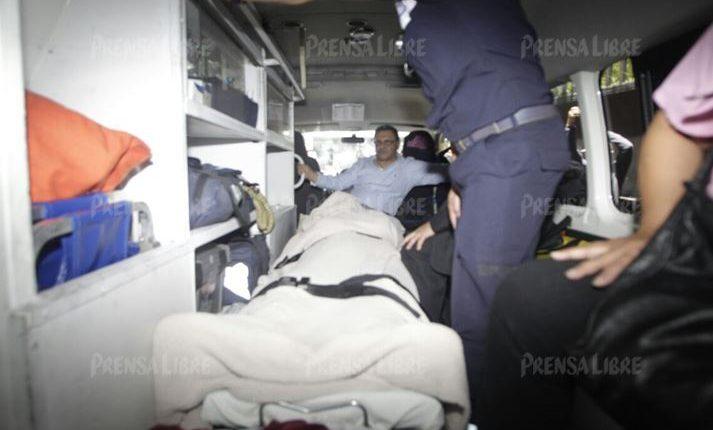 Los abogados de Ríos Montt piden que el general sea ingresado al Hospital Militar y que sea el Inacif quien evalúe el estado psiquiatrico. (Foto Prensa Libre: P. Raquec)