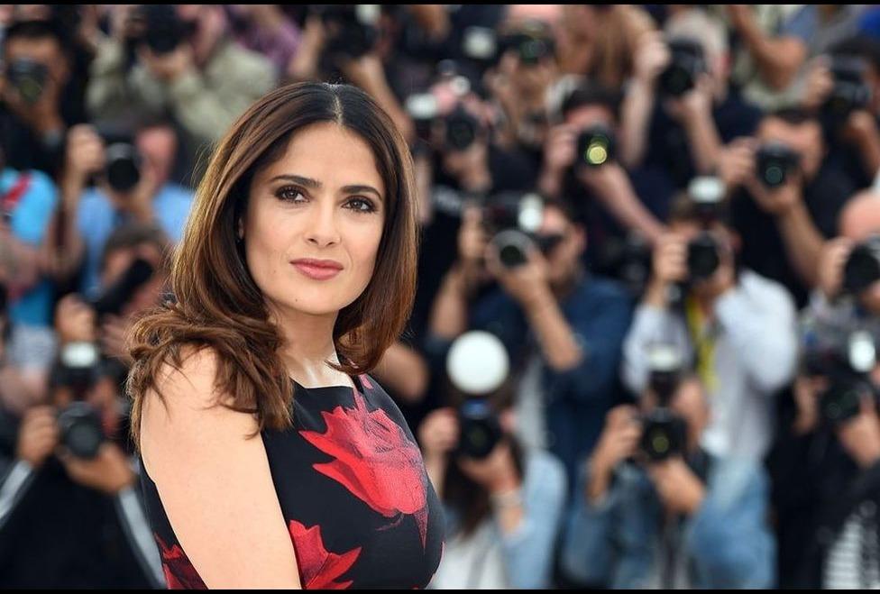 Salma Hayek amplió detalles sobre la situación que vivió con Harvey Weinstein (Foto Prensa Libre: AFP).