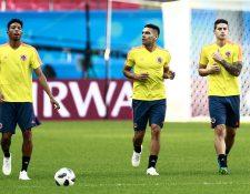 Colombia buscará volver a la vida en Rusia 2018 en el partido contra Polonia. (Foto Prensa Libre: AFP)