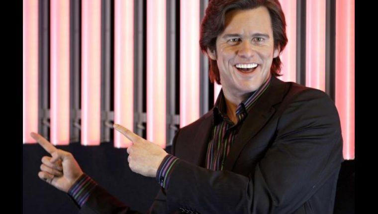 Jim Carrey volvió a expresar su sátira a través de la pintura (Foto Prensa Libre: AFP).