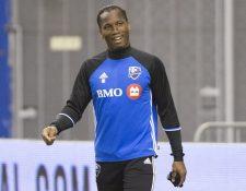 Didier Drogba padece de una lesión de menisco y su participación con el Impact de Montreal, es duda. (Foto Prensa Libre: AFP).